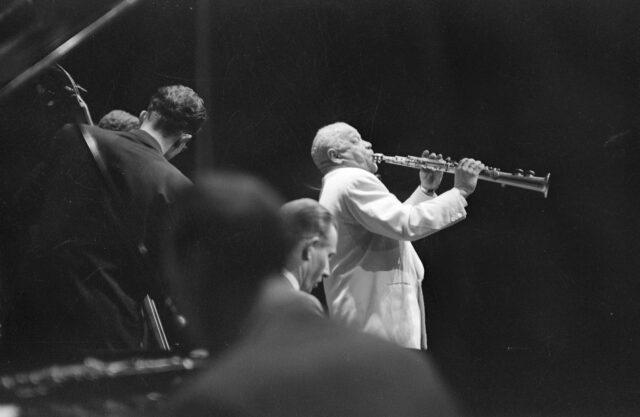 Sidney Bechet, Zürich im März 1953