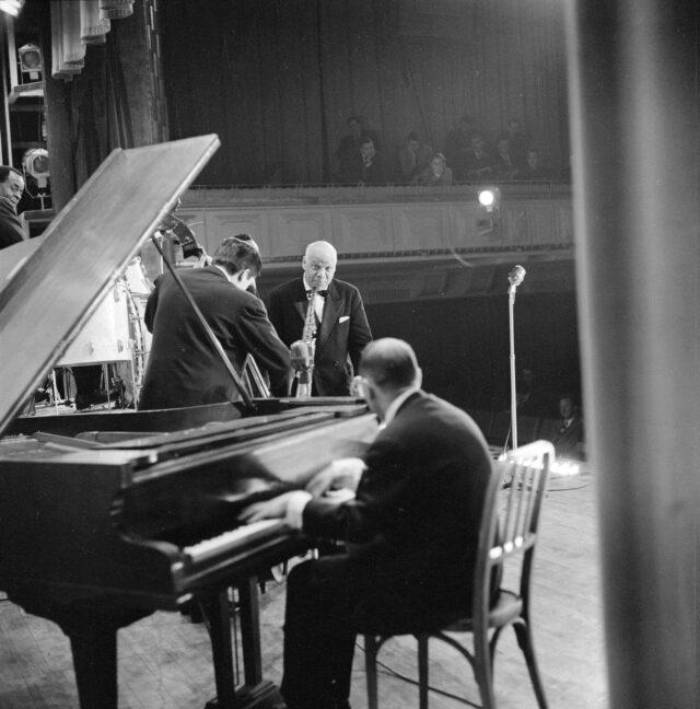 Sydney Bechet, Bern 12.03.1958