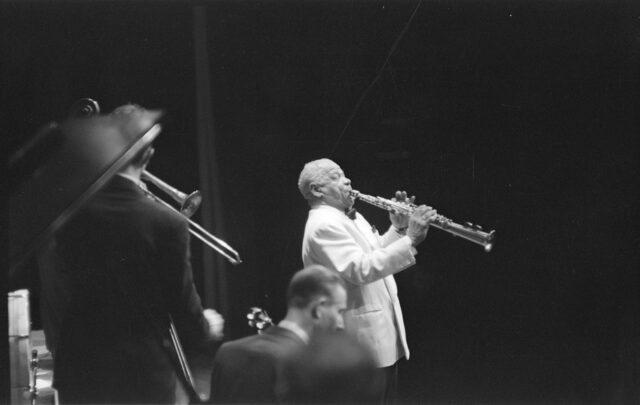 Sidney Bechet im Kongresshaus, Zürich 27.05.1952