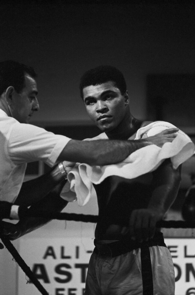 Muhammad Ali beim Training