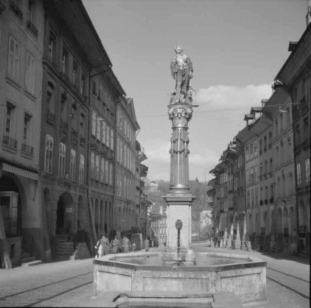 Gerechtigkeitsbrunnen, Gerechtigkeitsgasse
