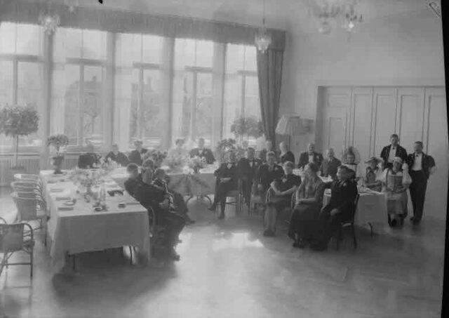 Hochzeit Direktor Maurer, Utzigen: Innenaufnahme Restaurant