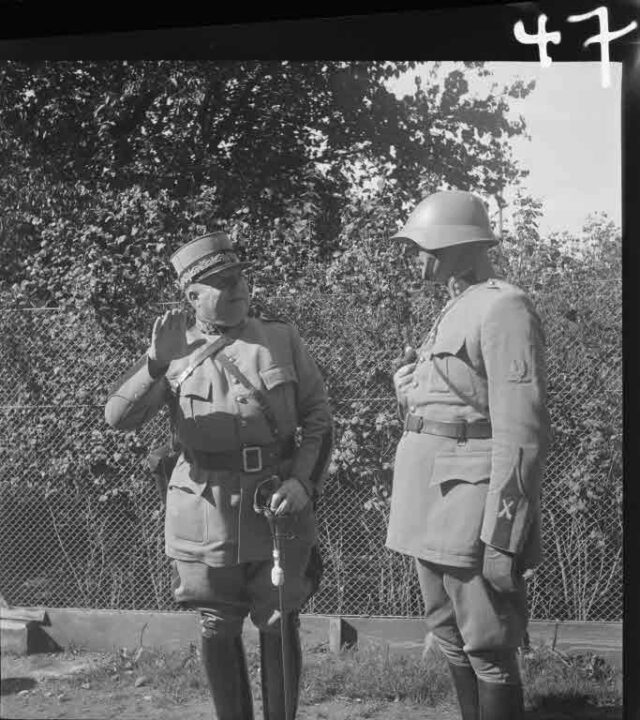 Manöver 1934: Fremde Offiziere