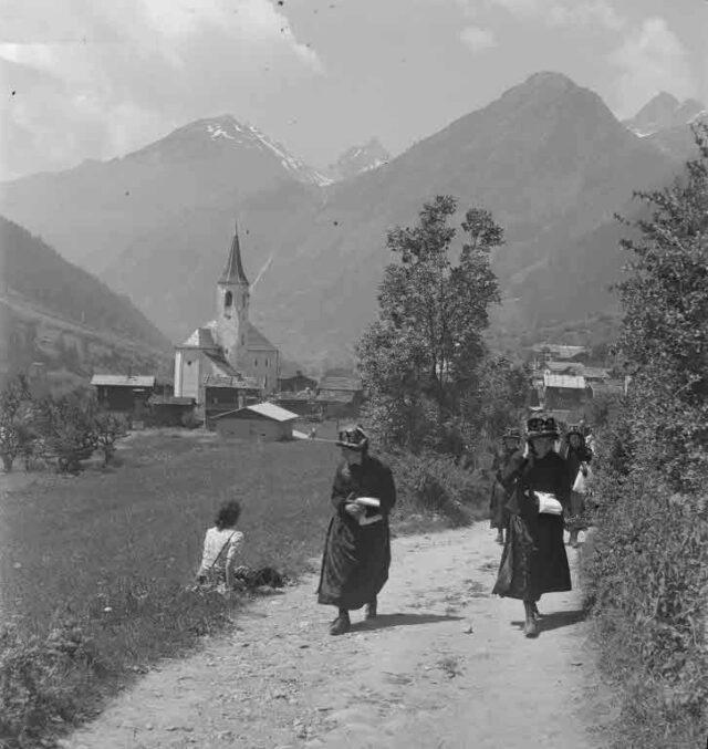 Segen-Sonntag im Lötschental, Wallis