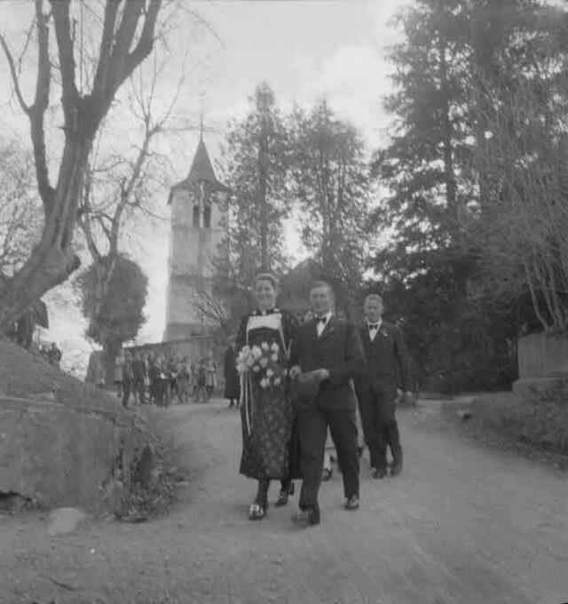 Hochzeitsgesellschaft Hegg, Landwirt, Möriswil
