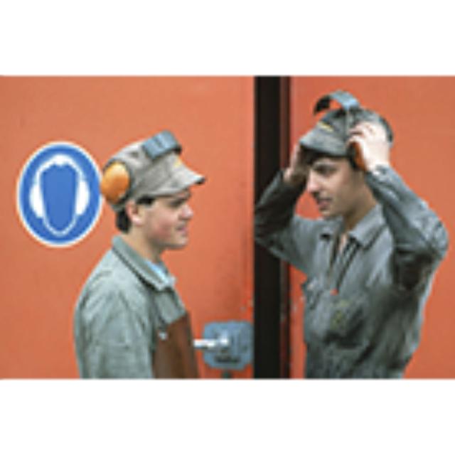 Gehörschutz. Persönliche Schutzmittel gegen Lärm in der Arbeitswelt (Tonbildschau im Auftrag der im Auftrag der Schweizerischen Unfallversicherungsanstalt (SUVA))