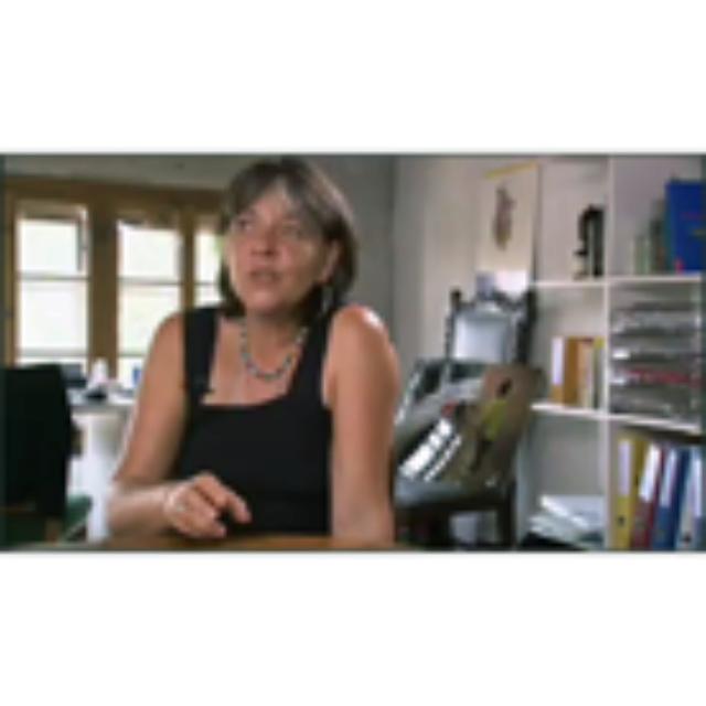 Koenig, Andrea, Zeitzeugnis vom 13.08.2009, Videoband 056-01, interviewt durch Gull, Thomas, deutsch, Dauer: 30:50