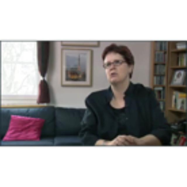 Burri Sharani, Barbara, Zeitzeugnis vom 24.02.2010, Videoband 115-04, interviewt durch Schnetzer, Dominik, deutsch, Dauer: 30:09