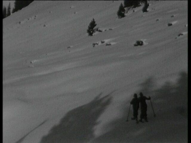 Skiabfahrt Kneugrat ob Braunwald
