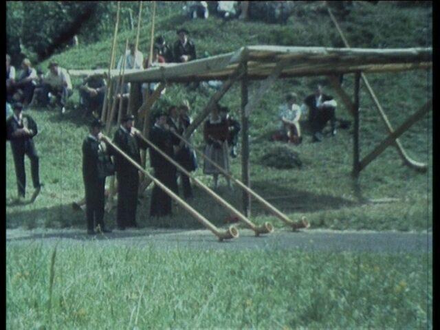 16. Nordostschweizerisches Jodlerfest am 11./12. Juni 1977 in Glarus