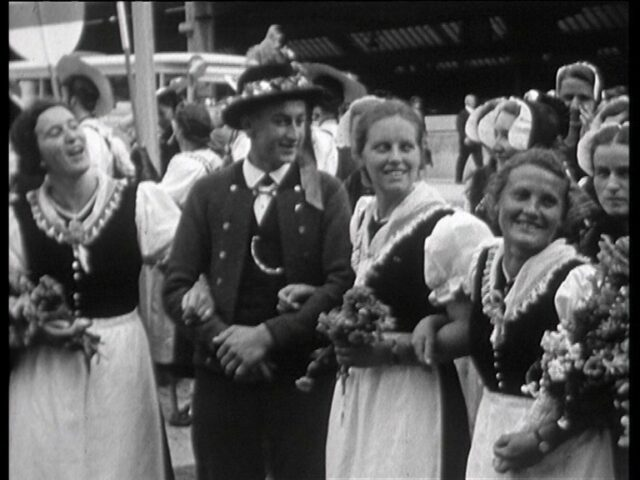 Vom eidg. Trachtenfest 1939 an der Landesausstellung