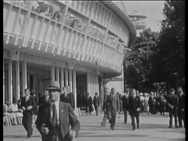 Ausflug der Firma Hefti Hätzingen an den Landitag 1939