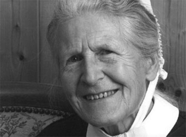 Soeur Edith Moser (Diaconesse de Saint-Loup - Sage-femme et infirmière)