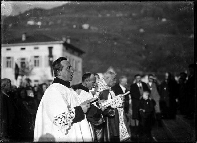Inaugurazione della chiesa del Sacro Cuore