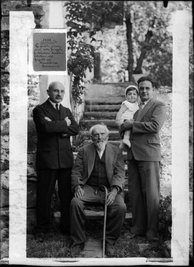"""""""Le quattro generazioni della famiglia di Celestino Donati"""""""