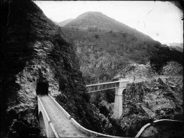 """""""Ponti de la Gura e su l'Isorno (près Intragna) Suisse"""""""