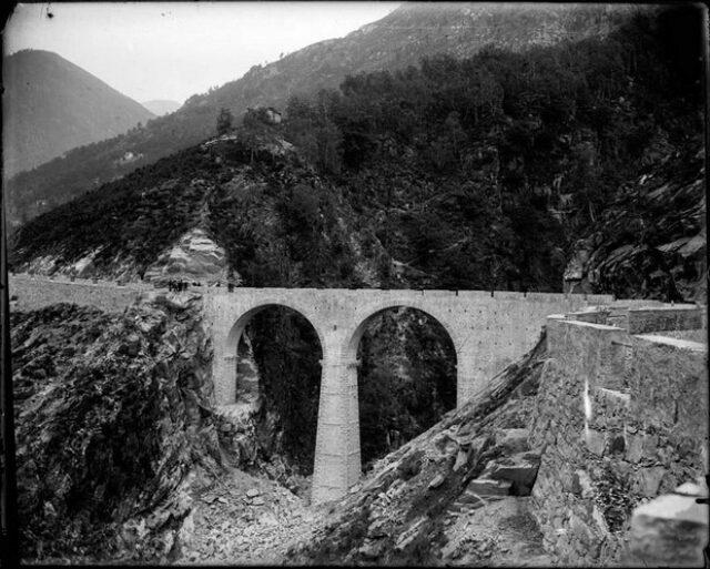 Ponte lungo la strada delle Centovalli