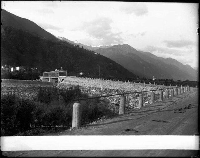 """""""Ponte sulla Maggia près Solduno (Suisse)"""""""