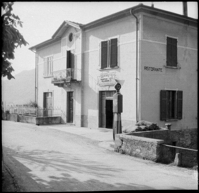 Panificio Pellegrini, con ristorante e pompa di benzina