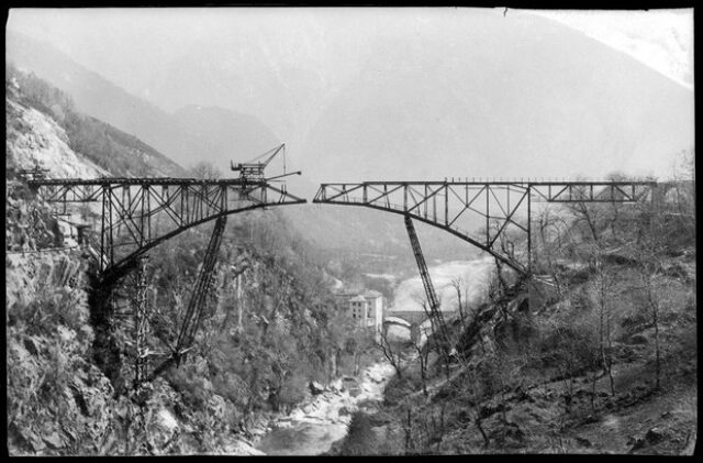 Ponte ferroviario della Centovallina sull'Isorno