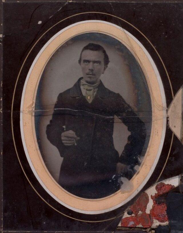 Angelo Monotti con sigaro