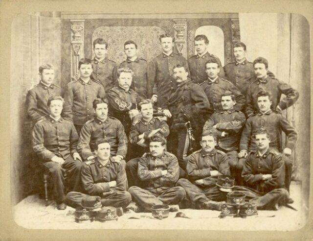 Gruppo di soldati