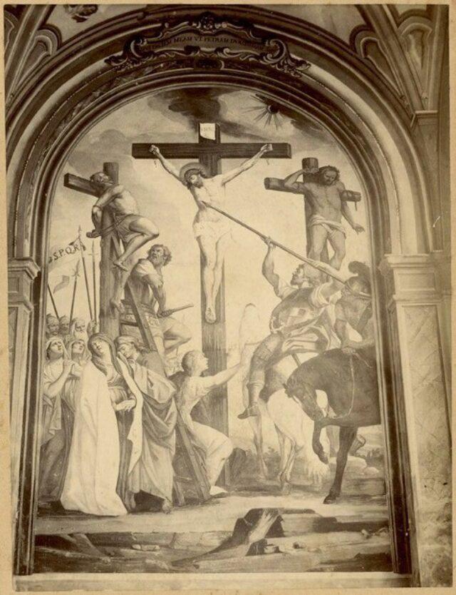 """""""Crocifissione"""" di Giuseppe Mattia Borgnis"""