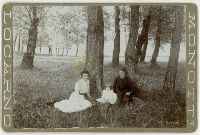Gioconda e Valentina Monotti con Fedela Galgiani