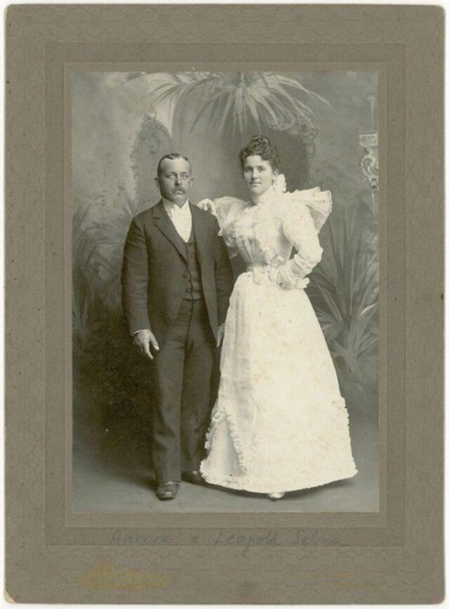 Aurora e Leopold Selna