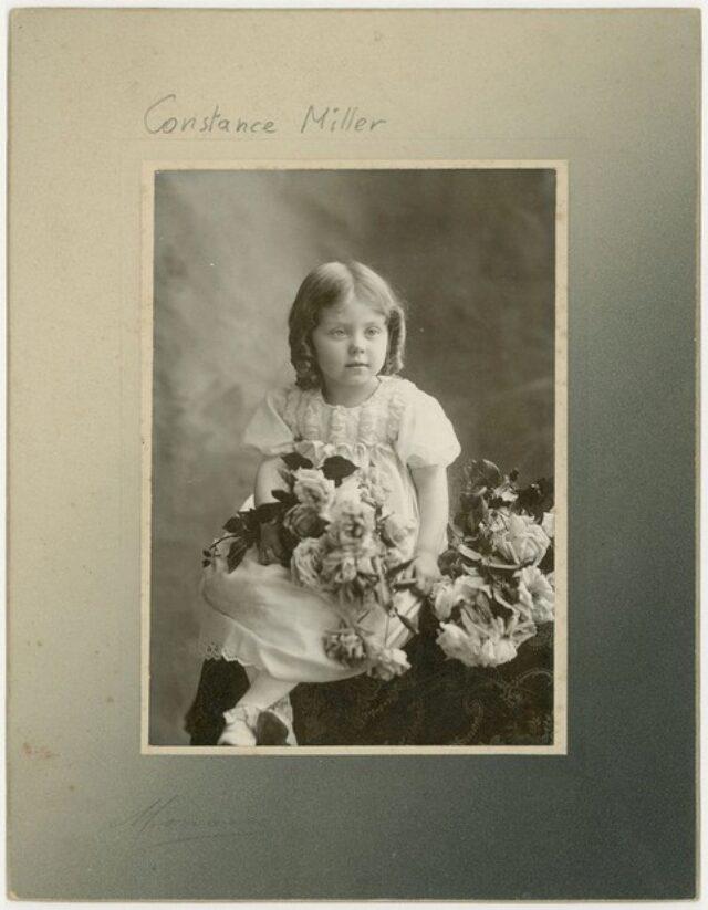 Constance Miller, nipote di Fedela Galgiani
