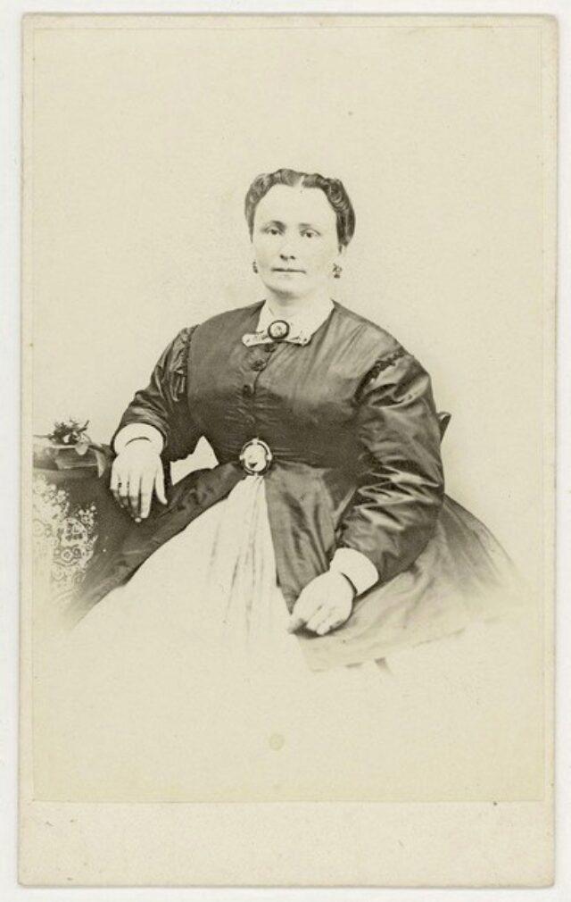 Clementina Monotti nata Cavalli, moglie di Alessandro
