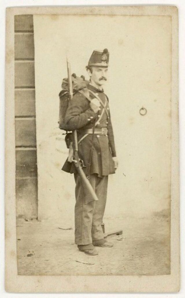 Angelo Monotti in uniforme militare