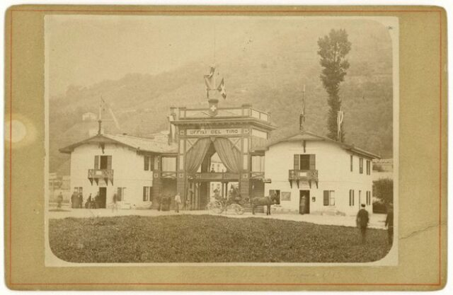 """""""Uffici del Tiro Federale a Lugano 1883"""""""