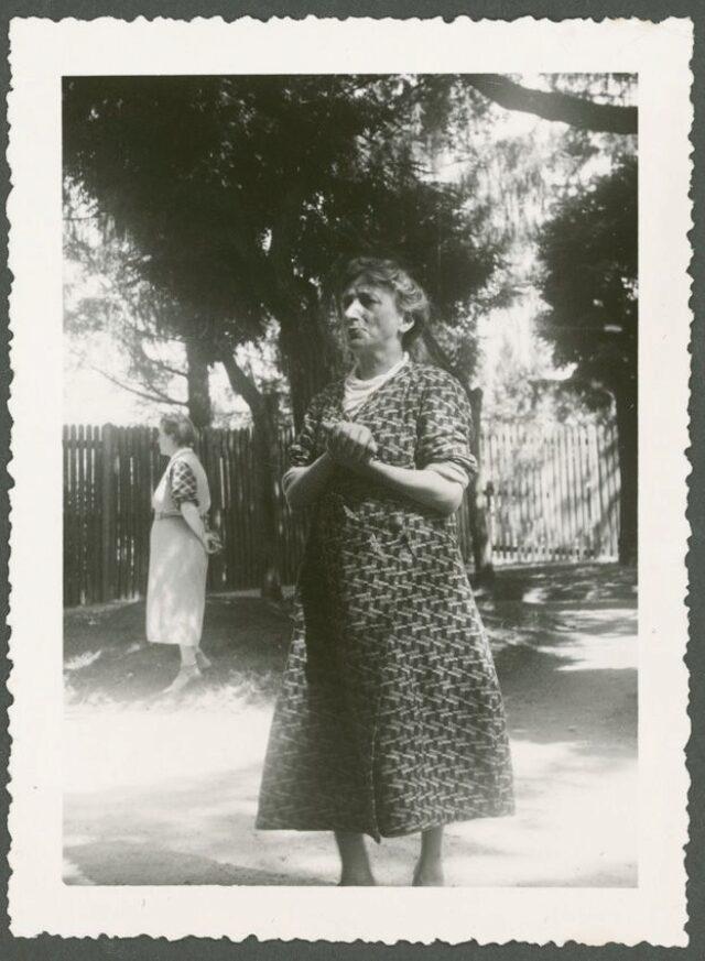 Due donne nel parco
