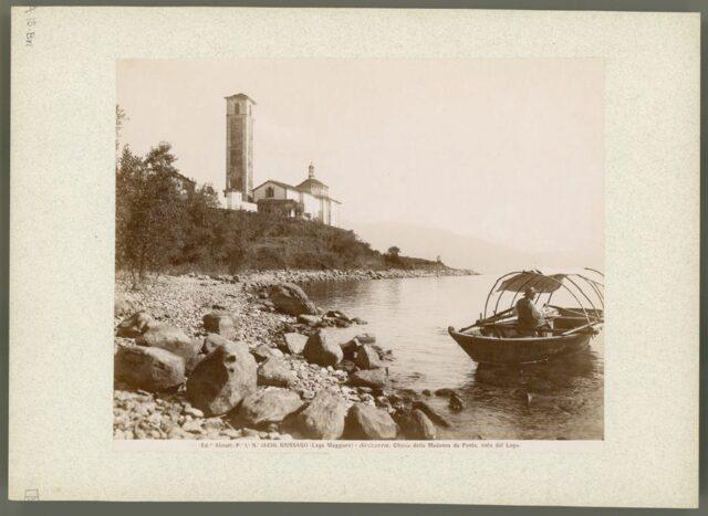 """""""Chiesa della Madonna da Ponte vista dal Lago"""""""