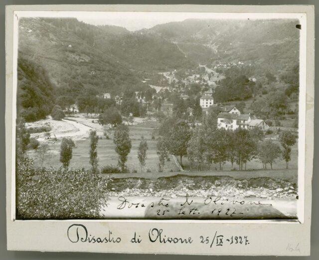 """""""Disastro di Olivone 25/IX - 1927"""""""