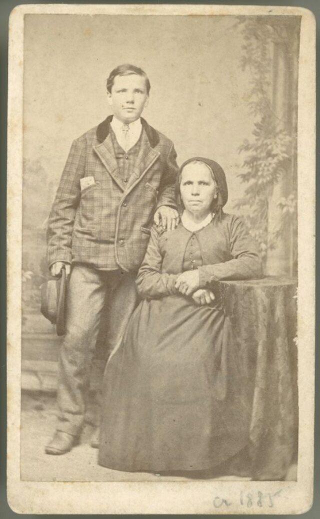 Madre e figlio [?]