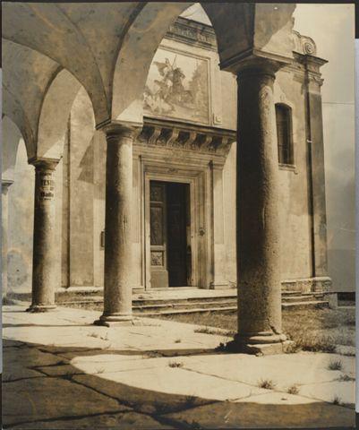 Facciata della Chiesa dei Santi Giorgio e Andrea