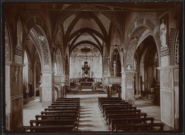 Navata principale della Cattedrale di San Lorenzo in Lugano