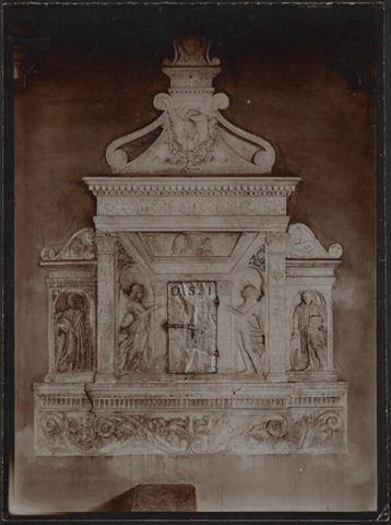 Detaglio del tabernacolo della Cattedrale di Lugano in Lugano