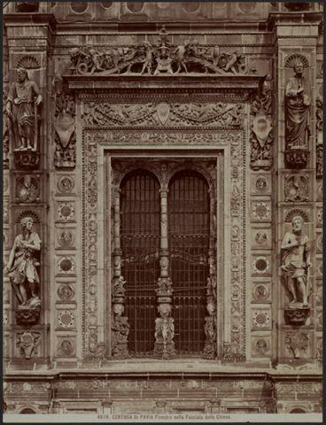Finestra della chiesa di Santa Maria delle Grazie