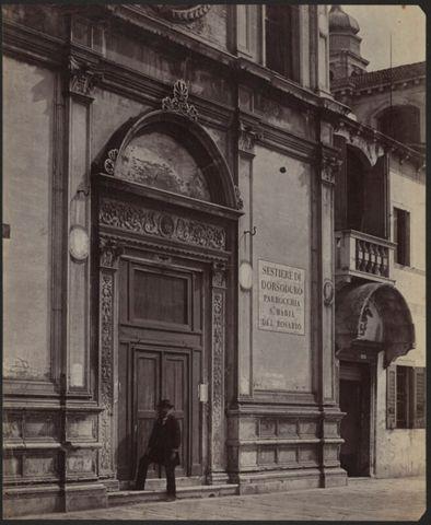 Portale della Chiesa di Santa Maria della Visitazione