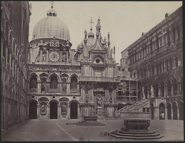 Veduta del cortile interno di Palazzo ducale