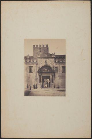 Veduta del Palazzo Arcivescovile di Verona