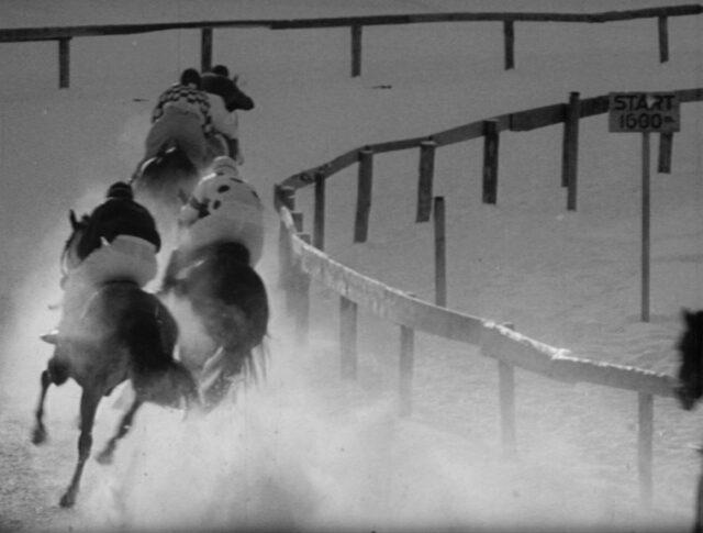 Corse di cavalli su neve (0902-5)