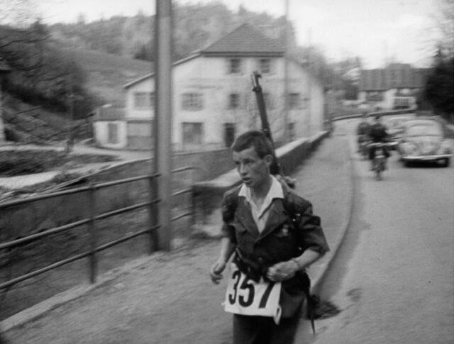 Corsa militare Le Locle – Neuchatel (0960-4)