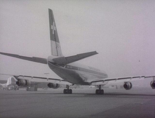 Record mondiale di DC-8 della SWISSAIR (1089-4)