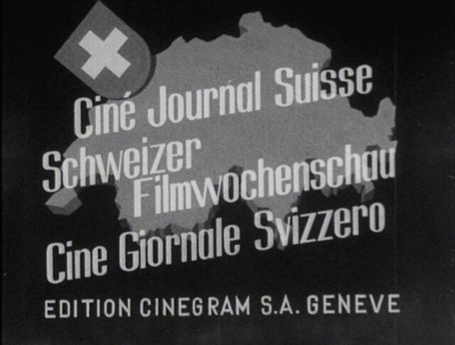Nouveau titre pour le Ciné-journal suisse (0012-0)