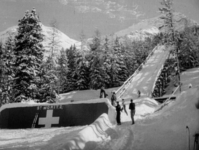 St.-Moritz : Préolympiades (0294-7)