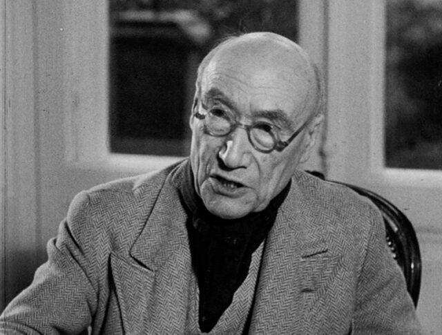 André Gide, Prix Nobel 1947, à Neuchâtel (0316-2)